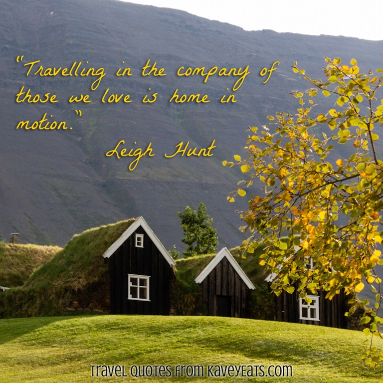 kavey eats travel quote tuesday leigh hunt