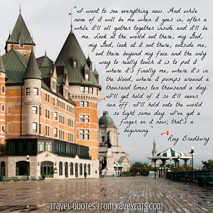 (c) Kavita Favelle - Ray Bradbury - Quebec City Canada