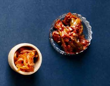 Ferment Pickle Dry Baby Courgette Kimchi