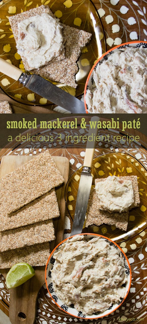 Smoked Mackerel Wasabi Pate on Kavey Eats (c)Kavita Favelle (Tall Pin)