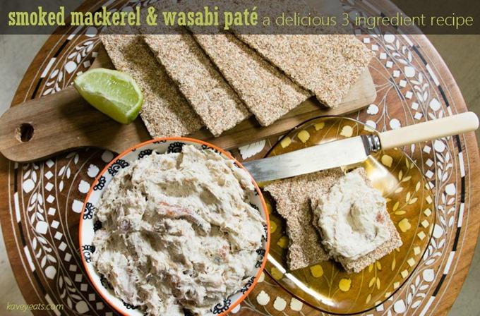 Smoked Mackerel Wasabi Pate on Kavey Eats (c)Kavita Favelle (Text2)