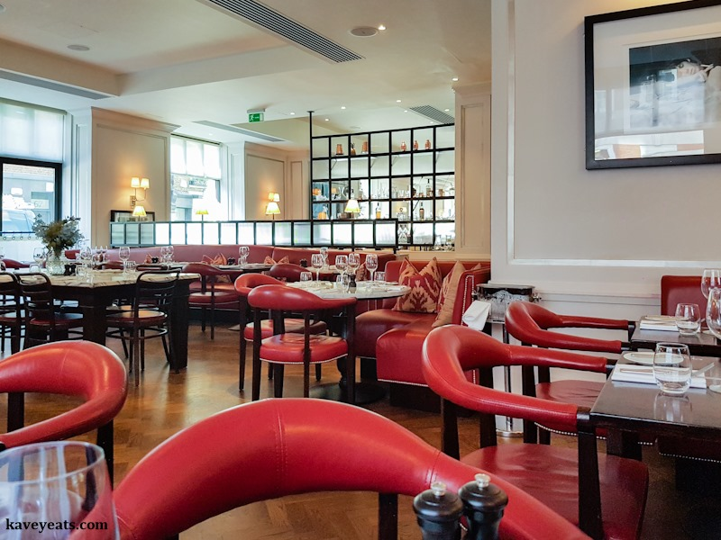 108 Brasserie | Dishes for Two in Marylebone Village