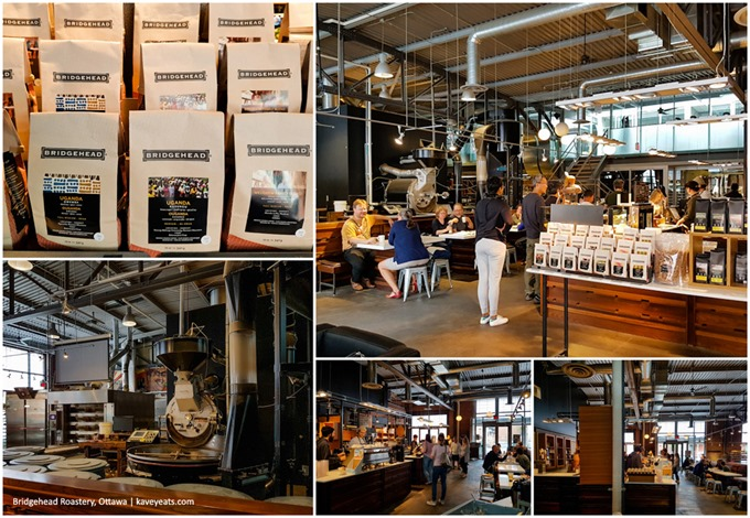 Bridgehead Roastery Collage - Ottawa 2016