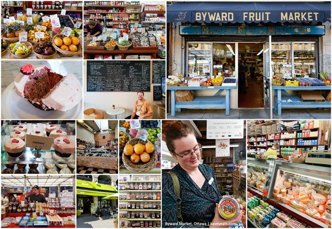 Byward Market Neighbourhood Collage - Ottawa 2016