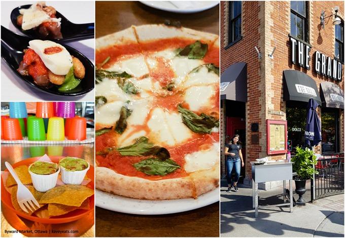 Byward Market Restaurants Collage - Ottawa 2016