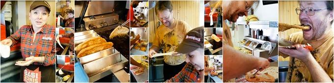 Making Beaver Tails Wide Collage - Ottawa 2016