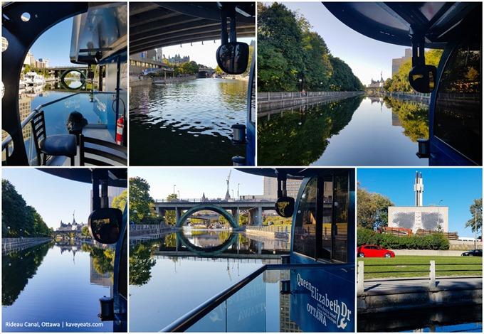 Rideau Canal Collage - Ottawa 2016