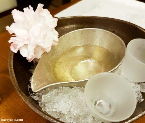 Sake serving vessels - katakuchi