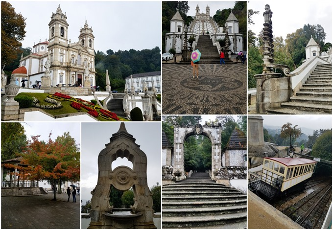 Bom Jesus do Monte Guimaraes Collage