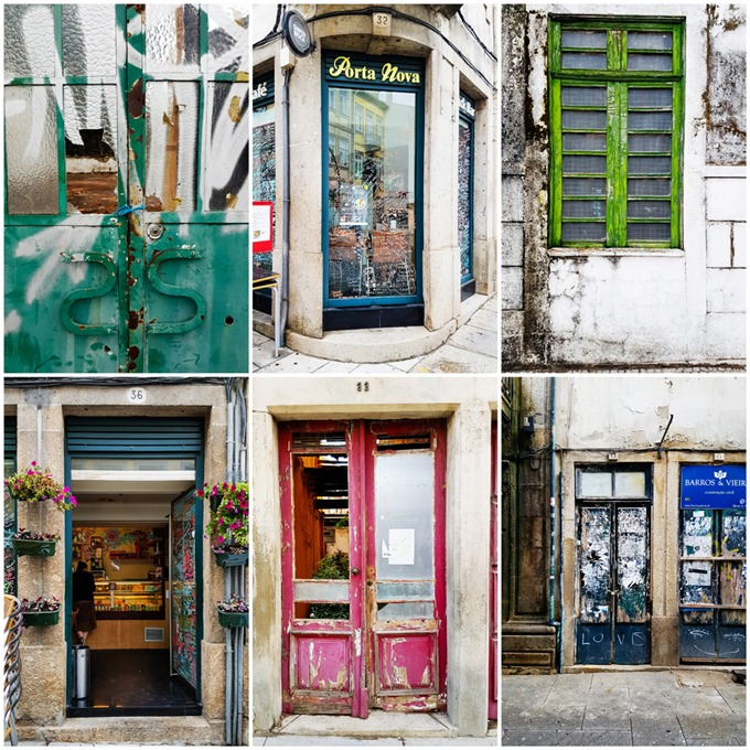 Braga Doors and Windows Collage