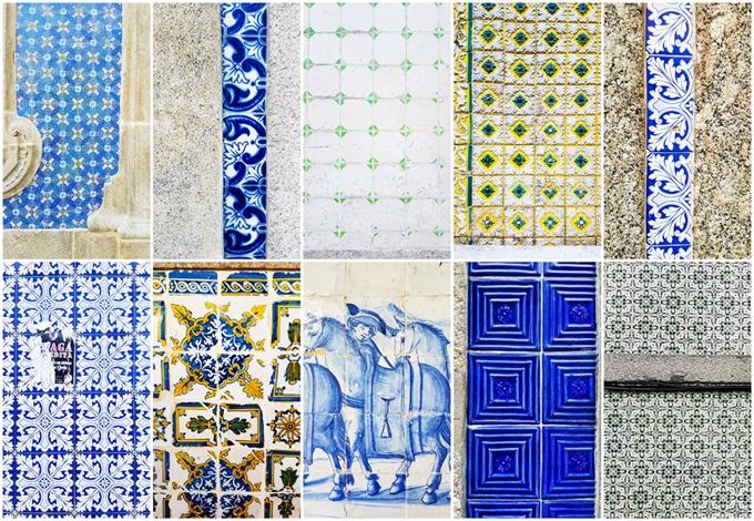 Braga Tiles Collage