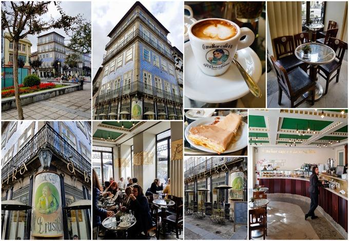 Cafe Brasileira Braga Collage