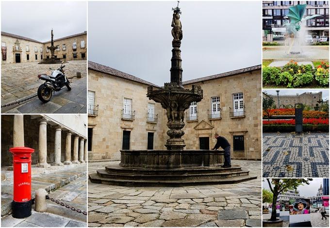 Episcopal Palace Braga Collage
