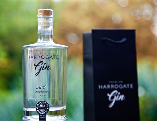 Harrogate Gin and Bag