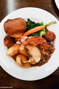 Hatchetts Sunday Roast on Kavey Eats (c) Kavita Favelle-