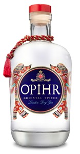Opihr Oriental Spiced Gin Bottle on white