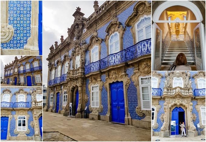Palacio Do Raio Braga Collage