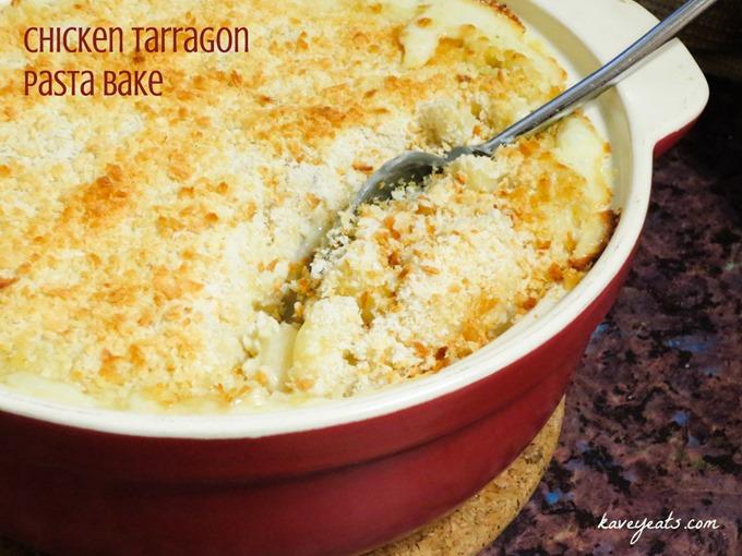 Chicken Tarragon Pasta Bake from Kavey Eats (c) Kavita Favelle (1)