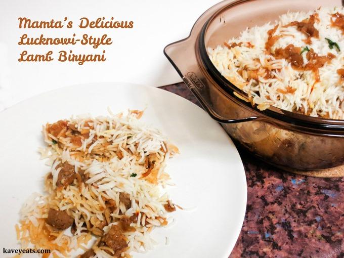 Mamta's Lucknowi Style Lamb Biryani from Kavey Eats (c) Kavita Favelle (1)