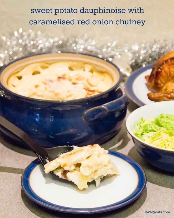 Sweet Potato Dauphinoise with Caramelised Onion Chutney on Kavey Eats by Kavita Favelle (1)