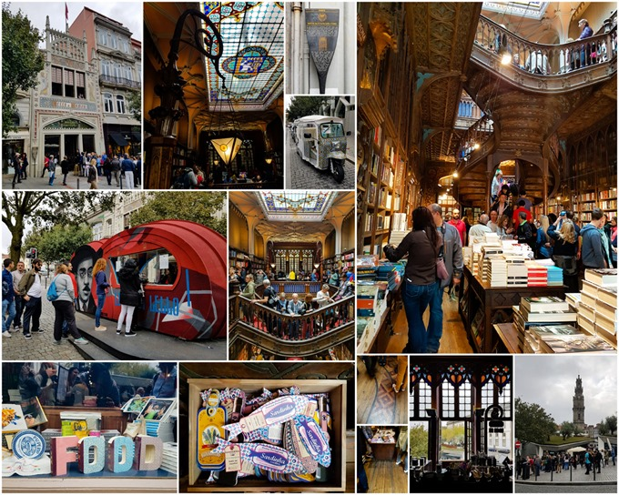 Porto Collage - Book Shop