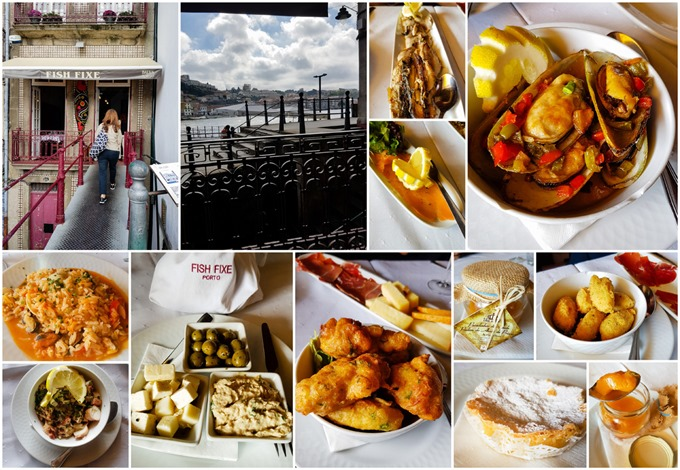 Porto Collage - Fish Fixe
