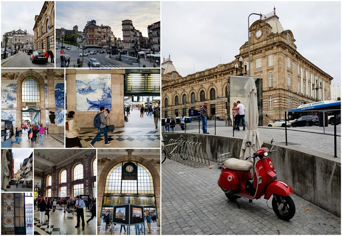 Porto Collage - Sao Bento Station
