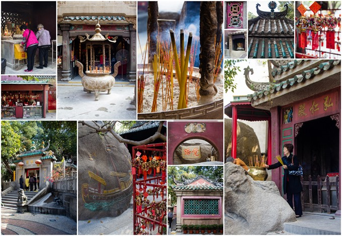 Macau A-Ma Temple on Kavey Eats