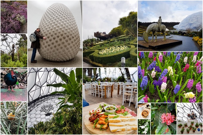 Eden Project Collage