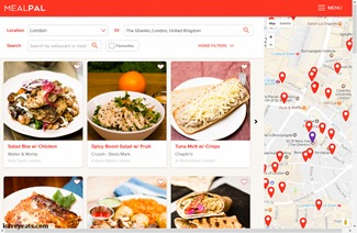 MealPal London Screenshots by Kavey Eats-
