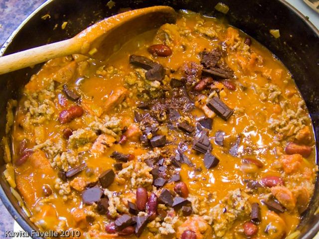 Chocolate Chorizo Chilli Con Carne Kavey Eats