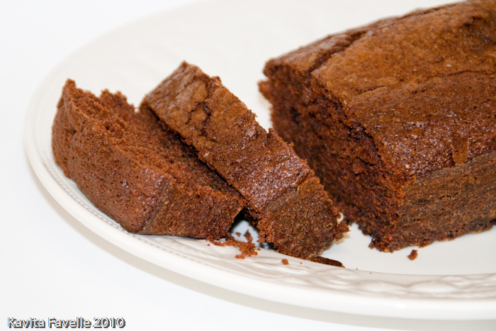 Nigella Dense Chocolate Loaf Cake