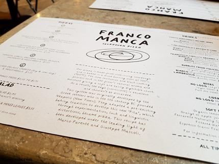 Franco Manca Pizzeria Broadgate Circle London on Kavey Eats-173549