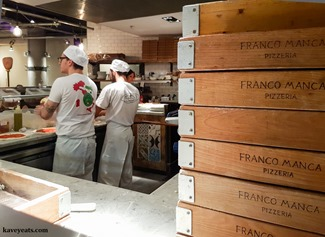 Franco Manca Pizzeria Broadgate Circle London on Kavey Eats-183134