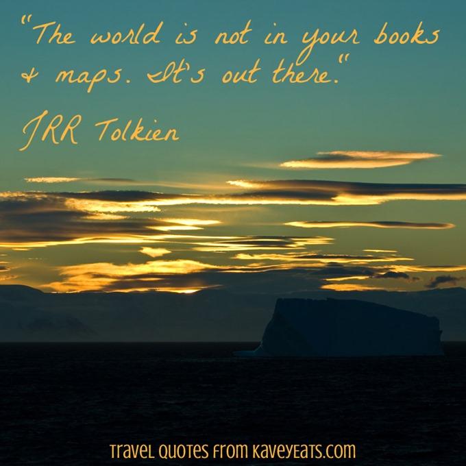(c) Kavita Favelle - JRR Tolkien - Antarctica