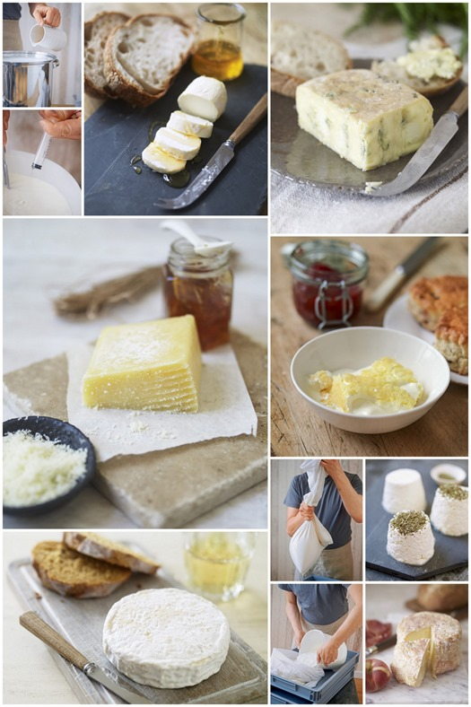 homemade cheese book kavey eats collage