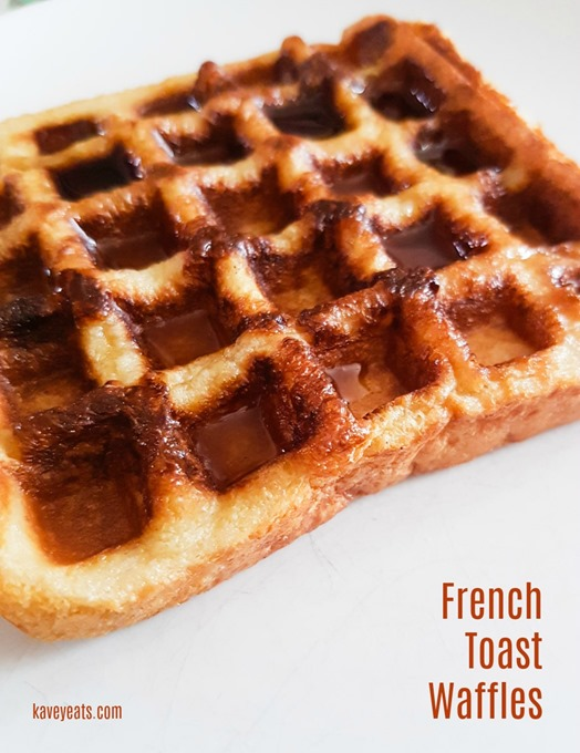 French Toast Waffles on Kavey Eats (3)
