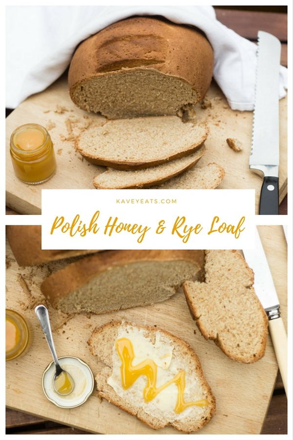 Honey and Rye Loaf on Kavey Eats (pinterest)