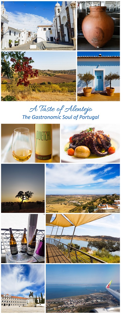 A Taste of Alentejo in Portugal (tall pin)