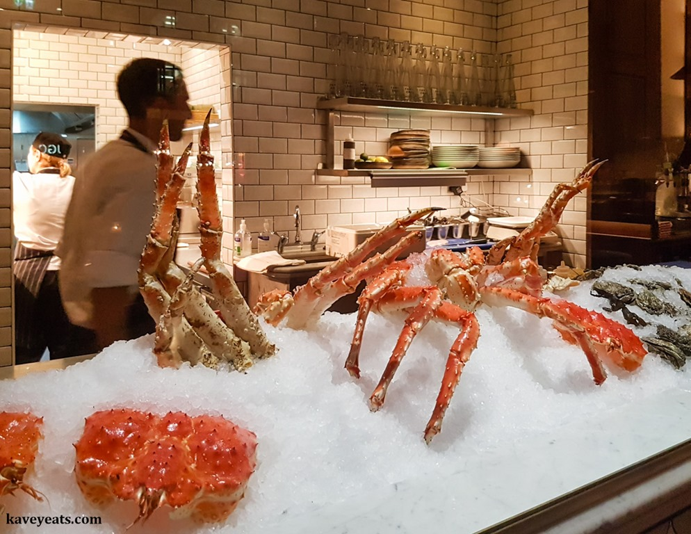 Fancy Crab | Red King Crab in the West End - Kavey Eats