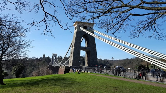 Bristol Clifton Suspension Bridge - Alan Cuthbertson