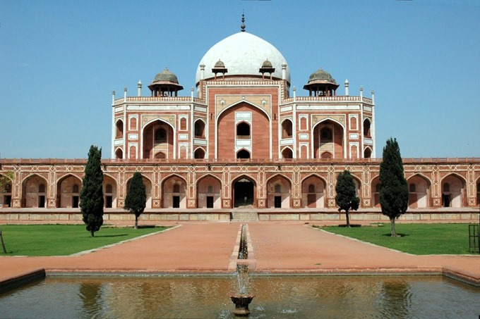 Delhi Humayun Tomb - Sandy Vyjay