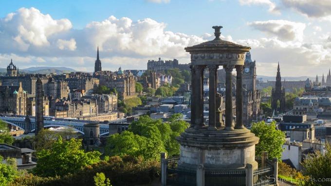 Edinburgh Dugald Stewart Monument - Skye Class