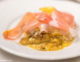 Grana Padano and San Daniele ham Kavey Eats (c) Kavita Favelle-2340