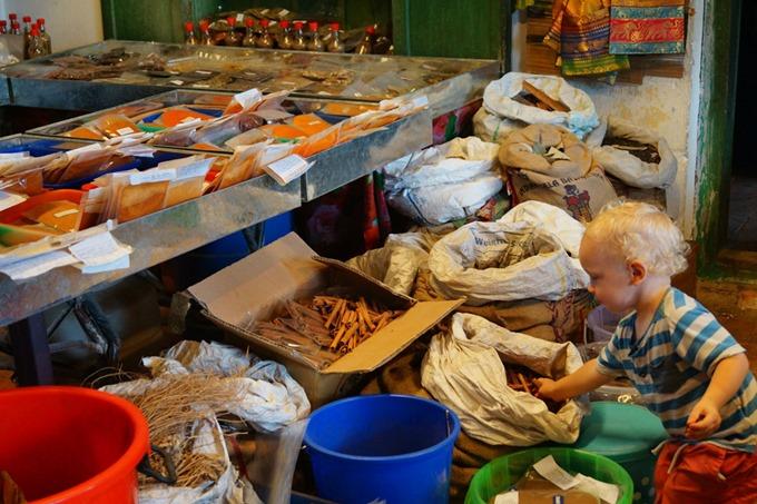 Kochi spice market - Jenny Lynn