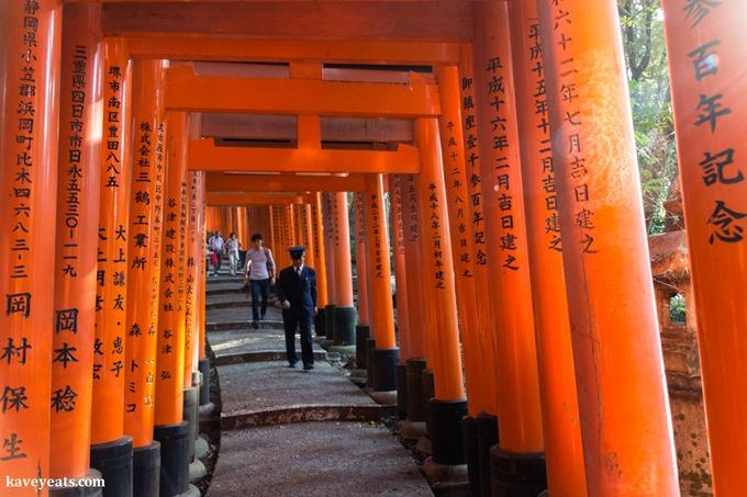 Kyoto Fushimi Inari - Kavita Favelle