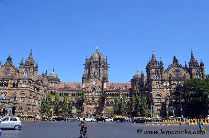 Mumbai VT station - Nisha Jha