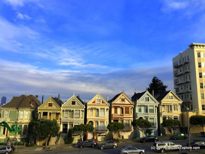 San Francisco - The Painted Ladies - May Chong