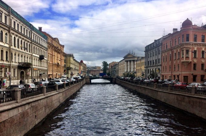 St. Petersburg canal and historical buildings - 100 Fantastic Cities for City Breaks, as chosen by travel bloggers (part 5)