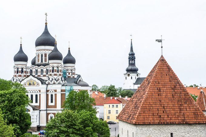 Tallinn historical rooftops - 100 Fantastic Cities for City Breaks, as chosen by travel bloggers (part 5)